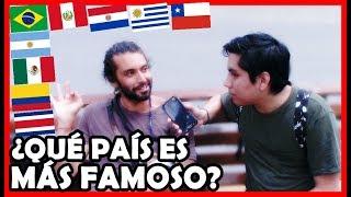 ¿Qué país es el más CONOCIDO de Latinoamérica en Perú? | Peruvian Life