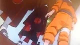 sasuke vs itachi - linkin park - leave out the rest