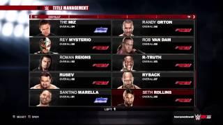 WWE 2K15 How To Get Updated Superstars/ Updated Wrestler Versions