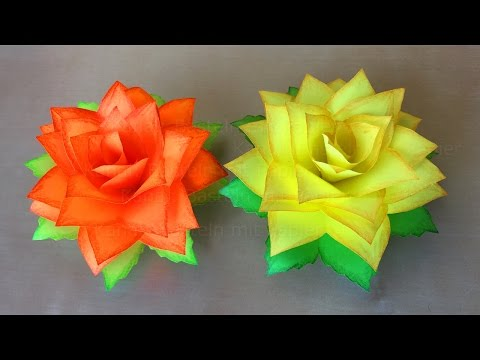 Xxx Mp4 Rosen Basteln Mit Papier 🌹 DIY Blumen Basteln Mit Kindern Origami Rose 3gp Sex