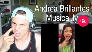 Andrea Brillantes Musical.ly Compilation Reaction