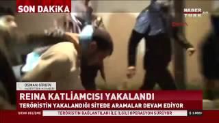 شاهد لحظة القبض على منفذ هجوم اسطنبول الارهابي