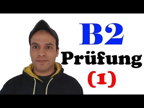 أمتحان B2 الجزء الأول