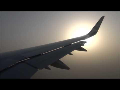 Etihad Airways A321 200 Abu Dhabi Landing 31R and Arrival