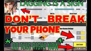 BEST Setup to STOP Lagging | Rules of Survival(How to Fix Lag) Tips And Tricks