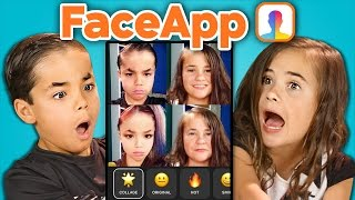 Kids vs. FaceApp (React)