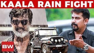 Kaala's Rain Fight Sequence with Jeep!   Kaala Jeep Owner Reveals   Rajinikanth   US 186