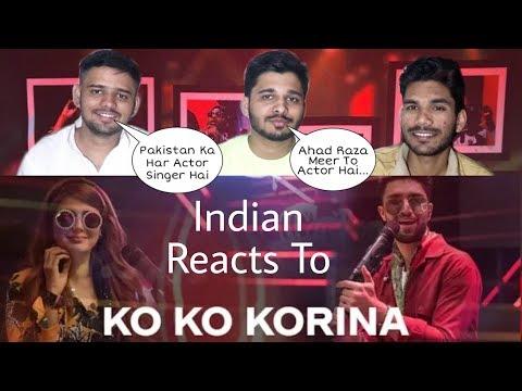 INDIANS React To KO KO KORINA | Momina Mustehsan & Ahad Raza Meer - Coke Studio Season 11