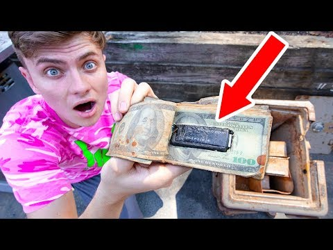 There was MORE in the Abandoned SAFE 10 000