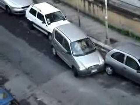 araba park etmek cok komik