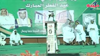 محمد السناني وراشد السحيمي من مهرجان العيد بالشبحة
