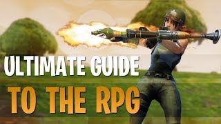 How to Win More GunFights! | The Ultimate RPG Guide! | Fortnite Battle Royale Tips