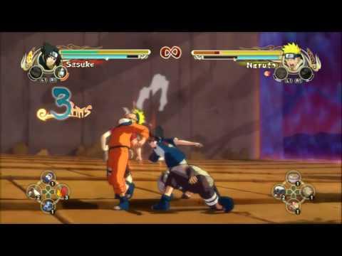 Naruto Ultimate Ninja Storm Sasuke vs. Gaara etc HD
