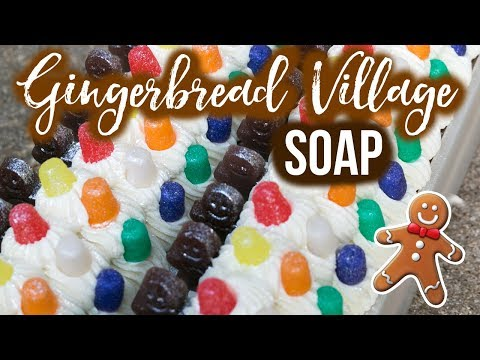 Gingerbread Village Custom Soap Family Updates Royalty Soaps