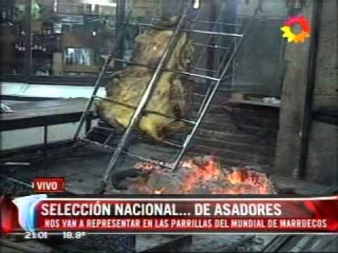 Mundial de Asado Equipo Argentino Locos X el Asado