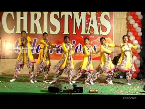 New Telugu Christmas Dance - Turpu Dikkuna Chukka Putte - VidoEmo - Emotional Video Unity