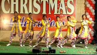 New Telugu latest christian christmas Dance Songs 2015 ||Rarandi yesayya janminche