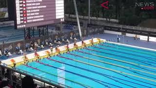 ANTARANEWS - Aksi Siman sumbang emas perdana renang SEA Games 2017