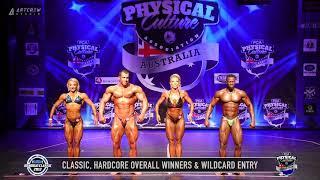 11 Overall Winners   Wildcard Posedown Hardcore & Classic Male & Female,
