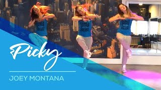 Joey Montana - Picky - Available on computer/laptop  Easy Fitness Dance Choreography