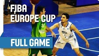 Sigal Prishtina (KOS) v AEK (CYP) - Full Game - Group K - FIBA Europe Cup
