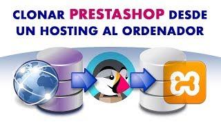 Descargar Prestashop 1.7 de un hosting a un servidor local [FÁCIL]