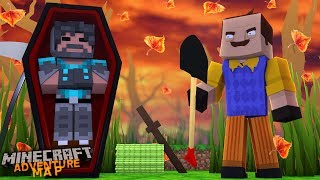 KILLED BY MY NEIGHBOR IN MINECRAFT!?!?