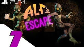 Oddworld New n Tasty - Alf's Escape - Walkthrough Part 1 - Finding Alf