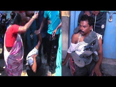 Xxx Mp4 Locals In Burdwan Thrashes Teacher For Molesting Girls In Class 3gp Sex