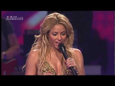 Shakira Loca Sexy Live Show I X Factor Finale Interview HD HQ