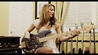 Anna Sentina - Bruno Mars - Treasure [Bass Cover]