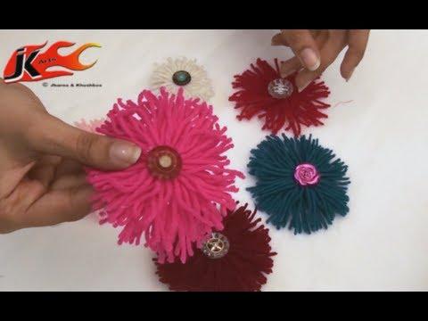 Xxx Mp4 Woolen Flower DIY How To Make JK Arts 022 3gp Sex