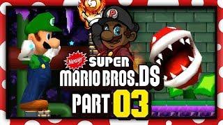 NEWER Super Mario Bros. DS w/ @PKSparkxx! - Part 3  