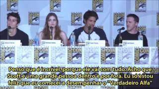 LEGENDADO: Painel de Teen Wolf (Comic Con 2013) - Parte 1