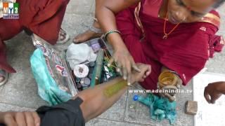 Indian Traditional Tattoo   Pachabottu    Lifetime Tattoo  