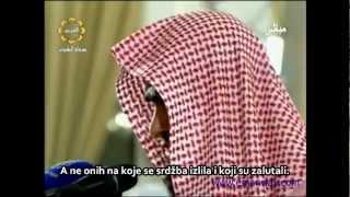 Salman Al-Utaybi Al Mu'minun, Et-Tekasur, El-Leheb, El-Ihlas,bosanski prijevod emotivno