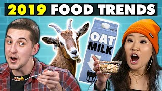 Will These Foods Be 2019's Biggest Trends? | College Kids Vs. Food
