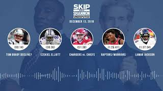 UNDISPUTED Audio Podcast (12.13.18) with Skip Bayless, Shannon Sharpe & Jenny Taft | UNDISPUTED