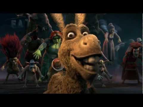 Shrek Thriller homenaje a Michael Jackson Latino