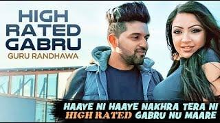 High rated gabru by guru randhawa (Manj music)director Gifty