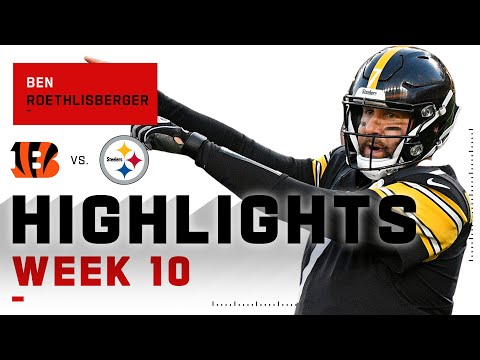 Ben Roethlisberger Keeps the Steelers Perfect w 333 Passing Yds & 4 TDs NFL 2020 Highlights