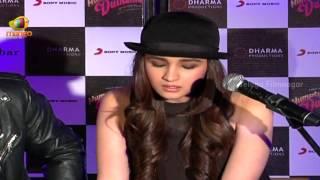 Alia Bhatt singing Main Tenu Samjhawan Ki song @ Humpty Sharma Ki Dulhania - Bollywood News