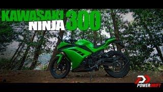 Kawasaki Ninja 300 : Review : PowerDrift