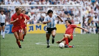 Diego Armando Maradona - World Cup 1986 - Unique Kinetics