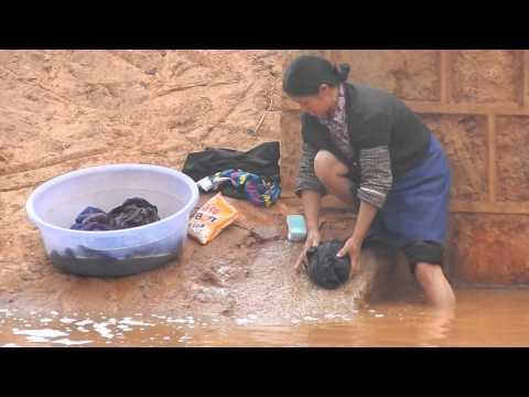 Xxx Mp4 Washing Clothes In Yunnan China 3gp Sex