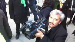 درگیری با فیلم بردار مزدور جمهوری اسلامی در لندن