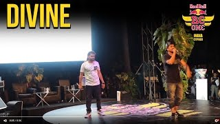 DIVINE Rap Showcase Made Crowd Go Crazy - Red Bull Bc One India Cypher