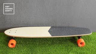 Make a Longboard // Easy Flat Style