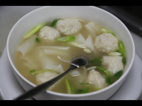 Xxx Mp4 Fish Ball Soup With Rice Noodles 魚丸河粉 3gp Sex