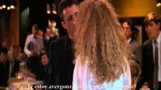 Andy García y Nancy Travis en Internal Affairs.